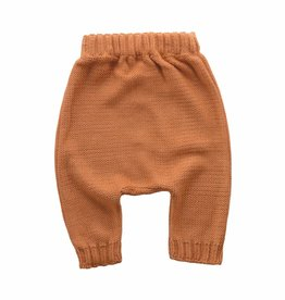 Bamboo & Love  AW17-KT17 KNIT BAGGY PANTS C21 - CAMEL -20%