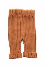 Bamboo & Love  AW17-KT18 KNIT RIB PANTS C21 - CAMEL -20%