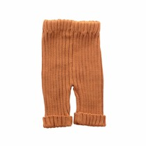 Bamboo & Love  AW17-KT18 KNIT RIB PANTS C21 - CAMEL
