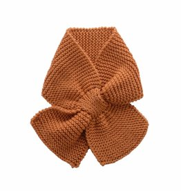 Bamboo & Love  AW17-AC32 KNIT SCARF C21 - CAMEL -20%