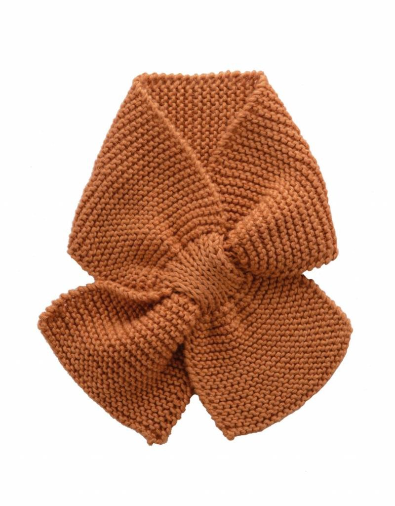 Bamboo & Love  AW17-AC32 KNIT SCARF C21 - CAMEL