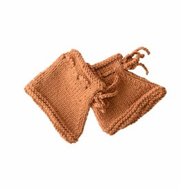 Bamboo & Love  AW17-AC34 KNIT BOOTIES 1 C21 - CAMEL