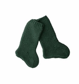 Bamboo & Love  W17-AC30 KNIT SOCKS C19 - BOTTLE GREEN -20%