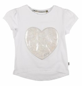 Rumbl! Royal 4655_0_T-shirt wit met hart