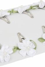 6977-Haarspelden wit bloemetje