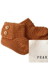 Bamboo & Love   KNIT BOOTIES 2 C22 - PEARL
