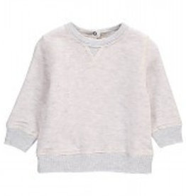 Babe & Tess Babe & Tess Sweatshirt Perla Grijs -30%