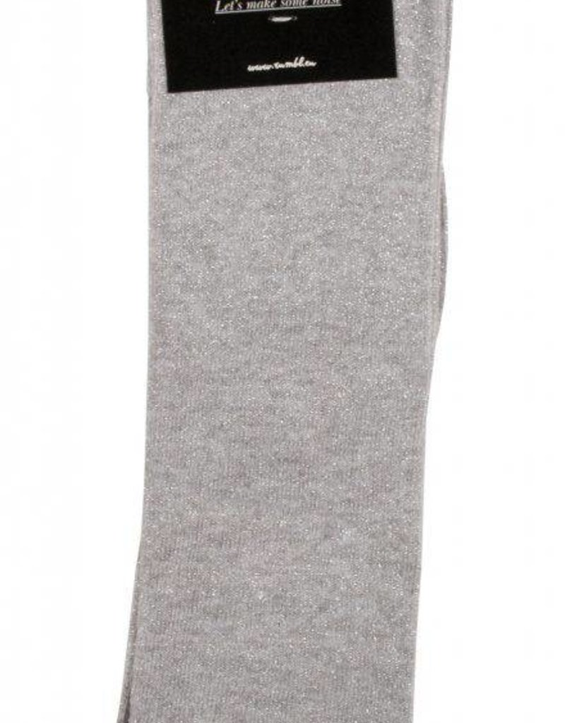 Rumbl! Royal knee_socks grey-silver
