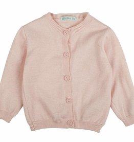 Bla bla bla Cardigan pink /white