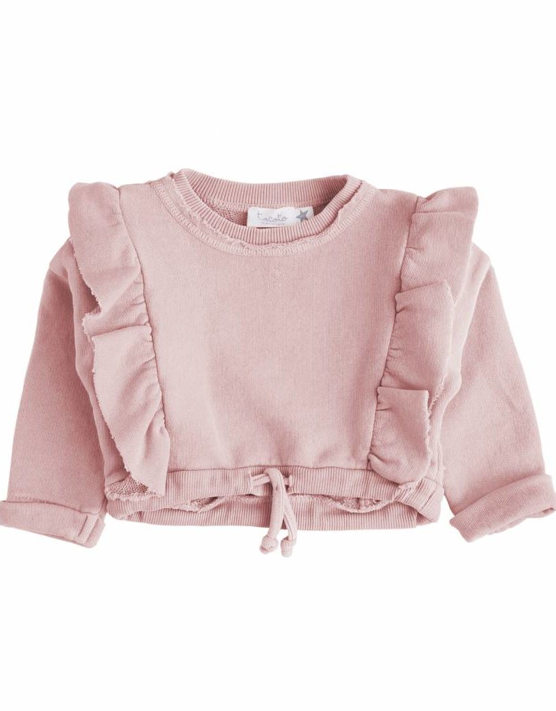 Tocoto Vintage Girls sweater pink