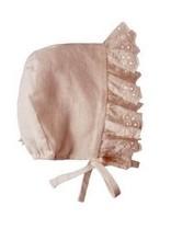 Tocoto Vintage Cap + lace Pink