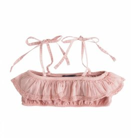 Tocoto Vintage Girl Swimwear Top Pink