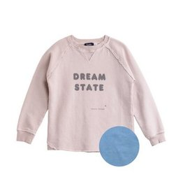 "Tocoto Vintage Sweatshirt ""DREAM STATE"" Blue"