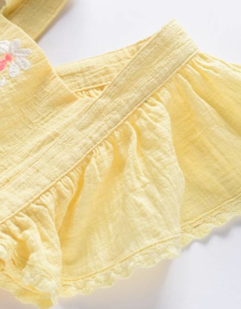Louise Misha Top Pushkar Lemon