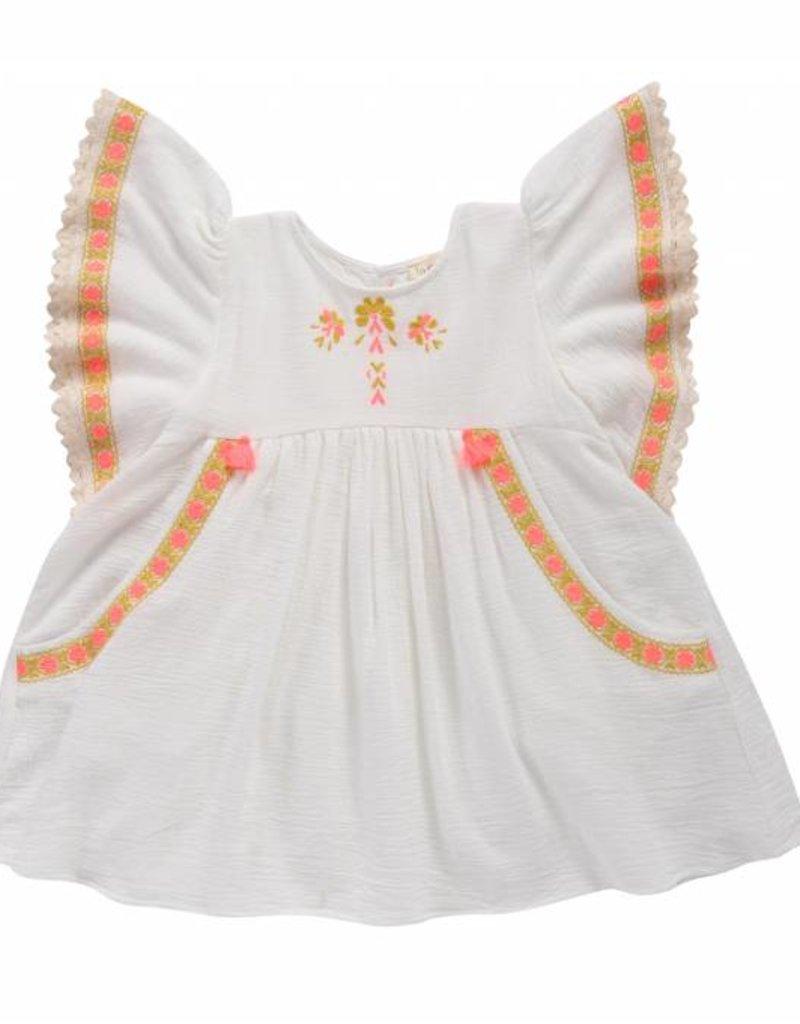 Louise Misha Dress Hindaka White