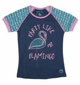 Birds T-shirt Flamingo