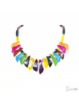 Enamora Multicolor Tagua Necklace