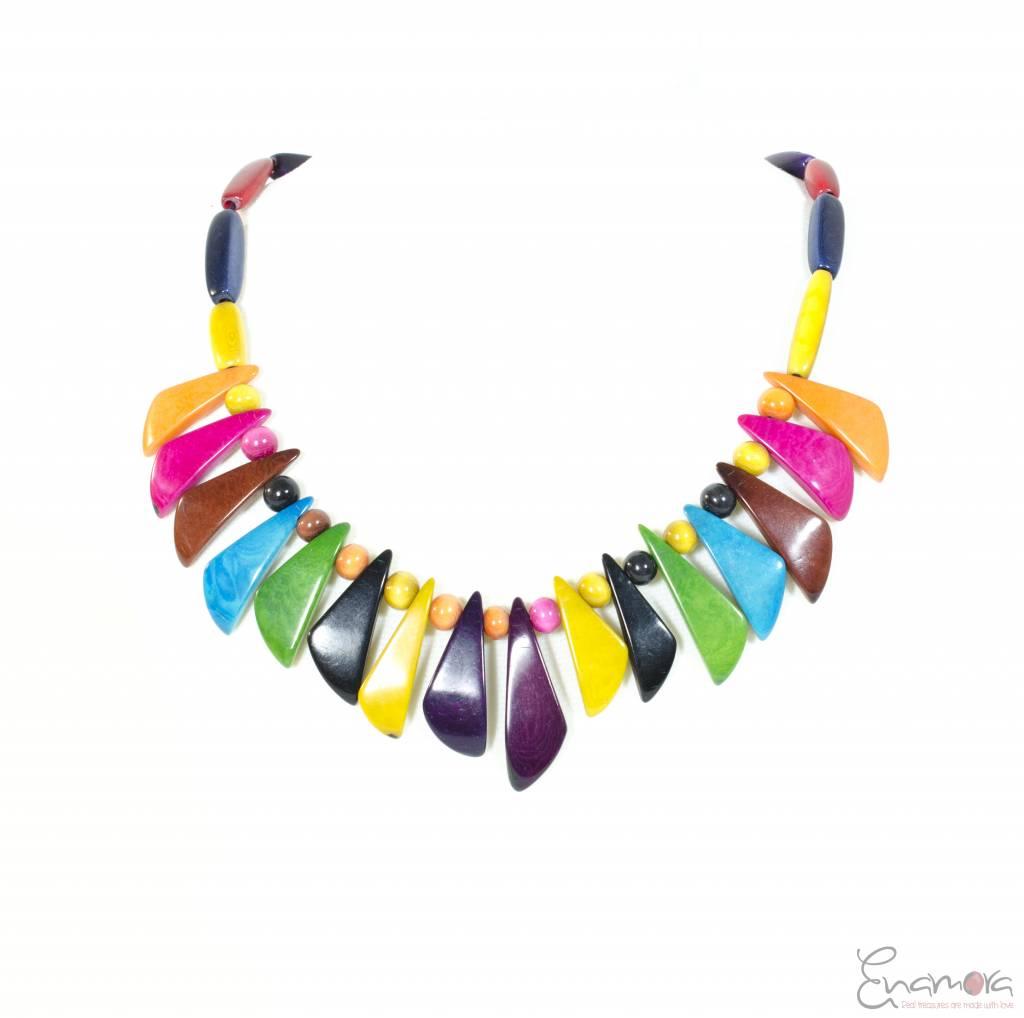 Enamora Colored Tagua Necklace
