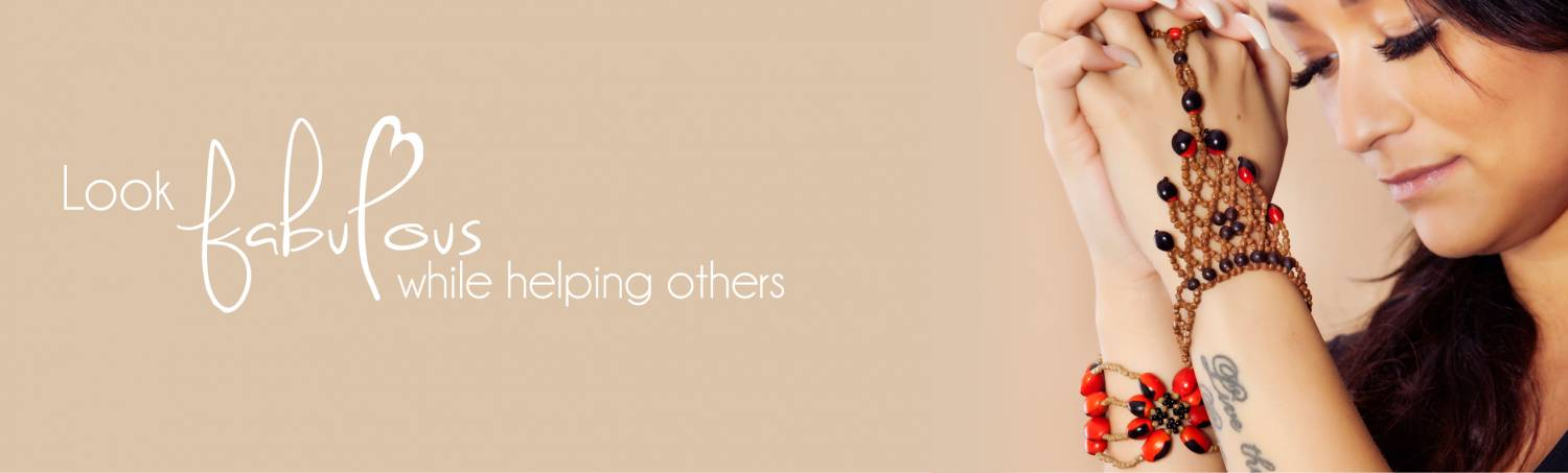 Look fabulous while helping others