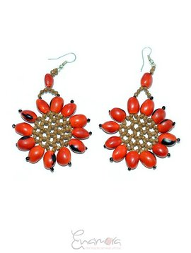 Enamora Anmora Flower Earrings