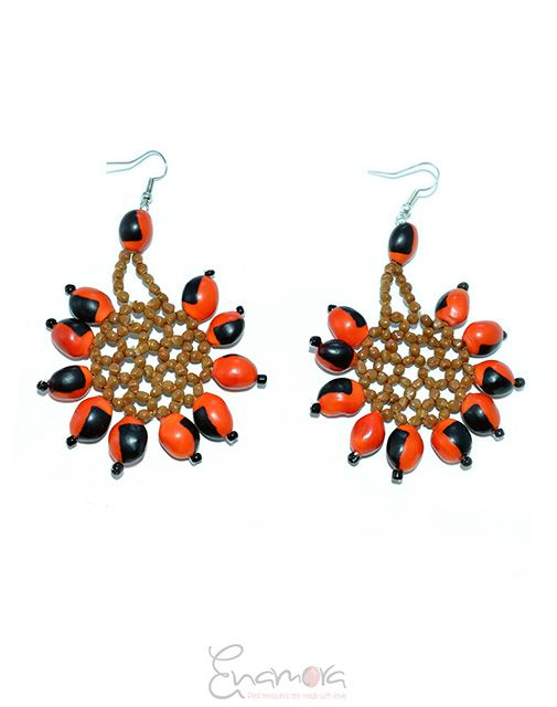 Enamora Anmora Flower Earrings