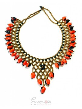 Enamora Huayruro Love Necklace