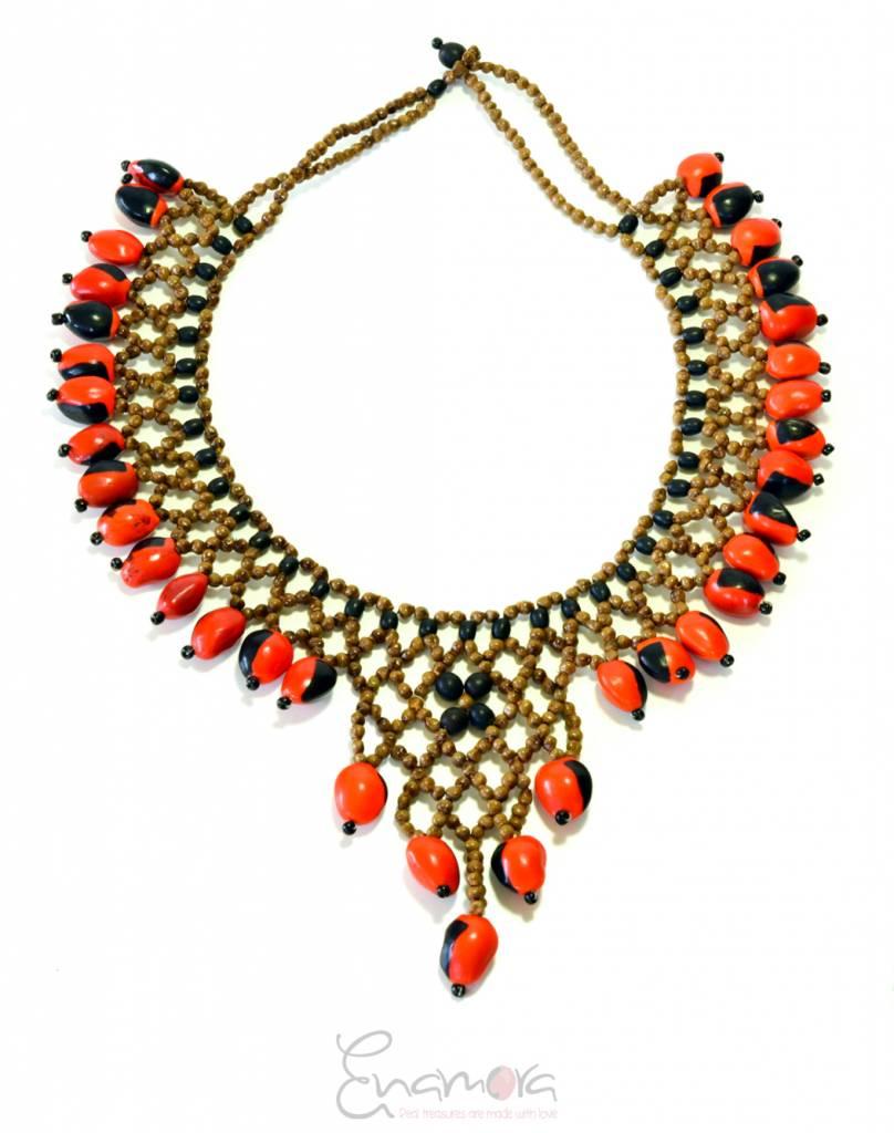 Enamora Huayruro Love Necklace