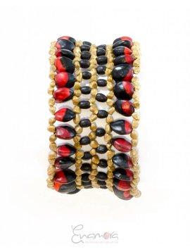 Enamora Bold beaded bracelet