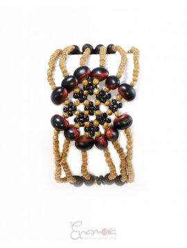 Enamora Rosary Flower Bracelet