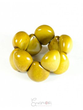 Enamora Yellow Tagua Bracelet