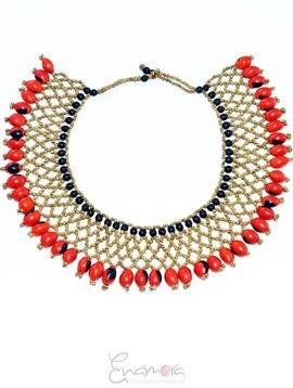Enamora Anamora Seed Necklace