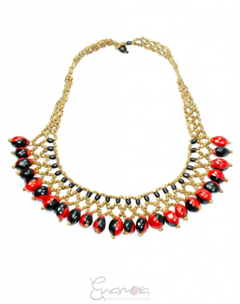 Enamora Balanza by Sindic Necklace