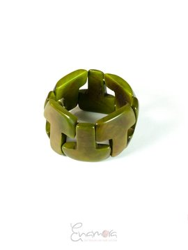 Enamora T of Tagua Bracelet by Maria