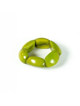 Enamora Groene Tagua Armband by Maria