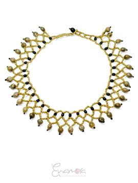 Enamora Sparkling Pedros Necklace