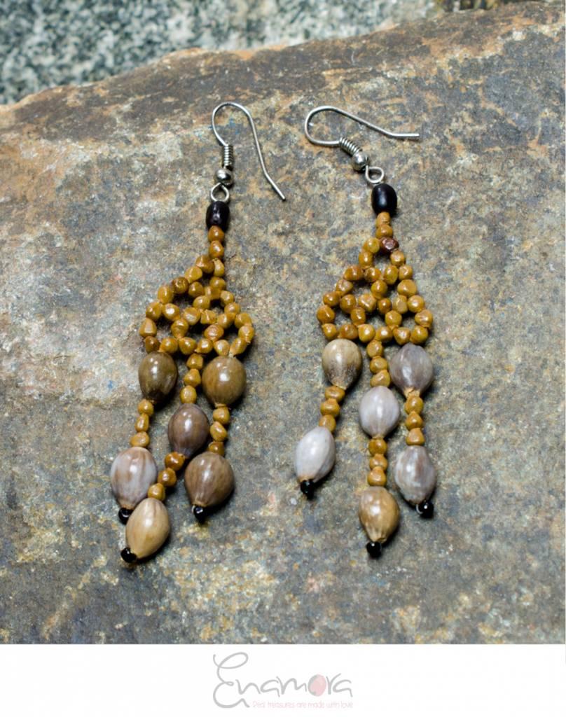 Enamora Sparkling San Pedros Earrings