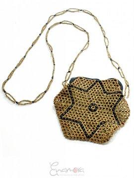 Enamora Star eco-chic crossbody bag