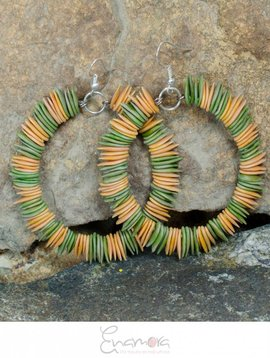 Enamora Melon seed earrings