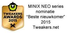 MINX NEO series genomineerd voor Tweakers Award 2015