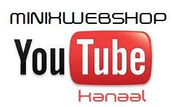 Youtube Kanaal MINIXWEBSHOP