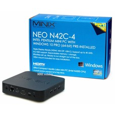 MINIX MINIX NEO N42C-4 Intel Pentium Mini PC, 4GB/32GB, USB-C Port