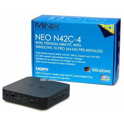 MINIX NEO N42C-4 Intel Pentium mini PC met Windows 10 Pro