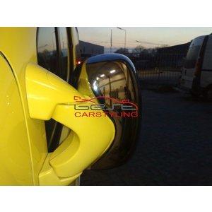 Renault Trafic Vivaro Spiegelkappen ABS chroom (set van 2 stuks)