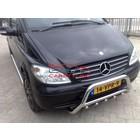 Mercedes-Benz Vito W639 (na 2003) Chrome voorgrillset RVS
