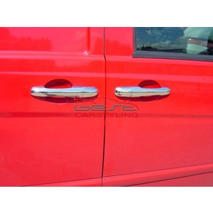 Mercedes-Benz Vito W639 (na 2003) Deurknoppen RVS (set van 3 stuks)