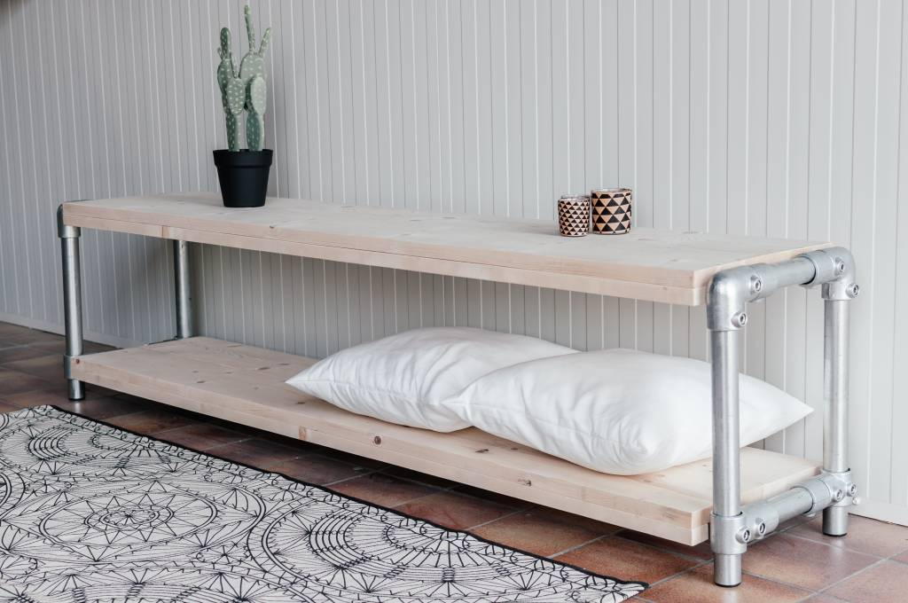 Eenvoudige Industrieel Woonkamer : Tv meubel industrieel voor iedere woonkamer