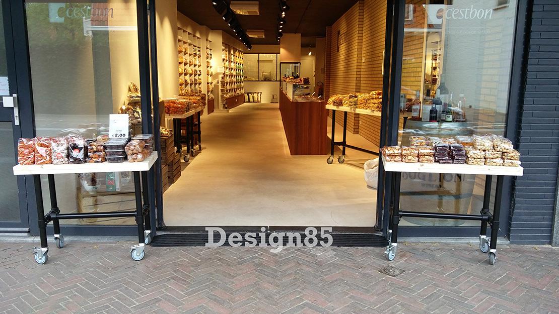 Winkelinrichting Met Steigerbuis En Steigerhout Design85nl