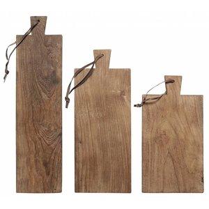 HKliving Cutting Boards Wood Set of 3