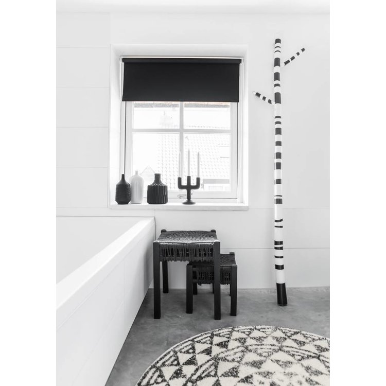 hkliving badematte rund baumwolle 80 orangehaus. Black Bedroom Furniture Sets. Home Design Ideas