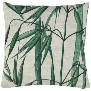HKliving Cushion with bamboo print